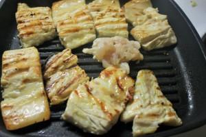 Салат с сибасом, Полезный ужин