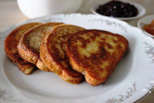 Сладкие гренки по-французски, завтрак вкусно и дешево